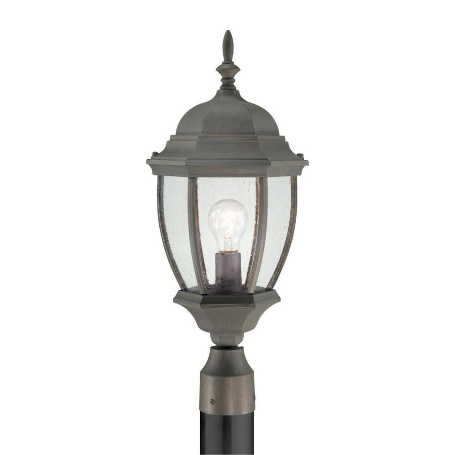 Thomas Lighting Convington 21.5-in H Painted Bronze Complete Pier-Mounted Light