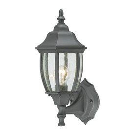 e39c1b900dc Thomas Lighting Convington 14.25-in H Black Outdoor Wall Light