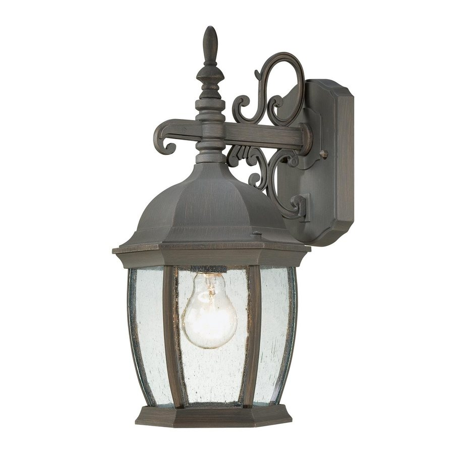 Thomas Lighting Convington 16-in H Painted Bronze Outdoor Wall Light