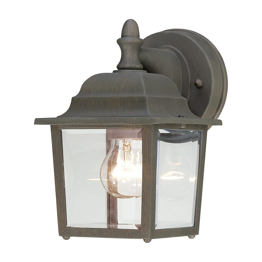Thomas Lighting Convington 8.5-in H Painted Bronze Outdoor Wall Light