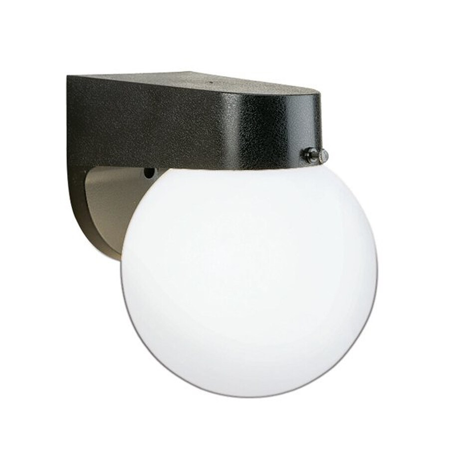 Thomas Lighting 7-in H White Outdoor Wall Light