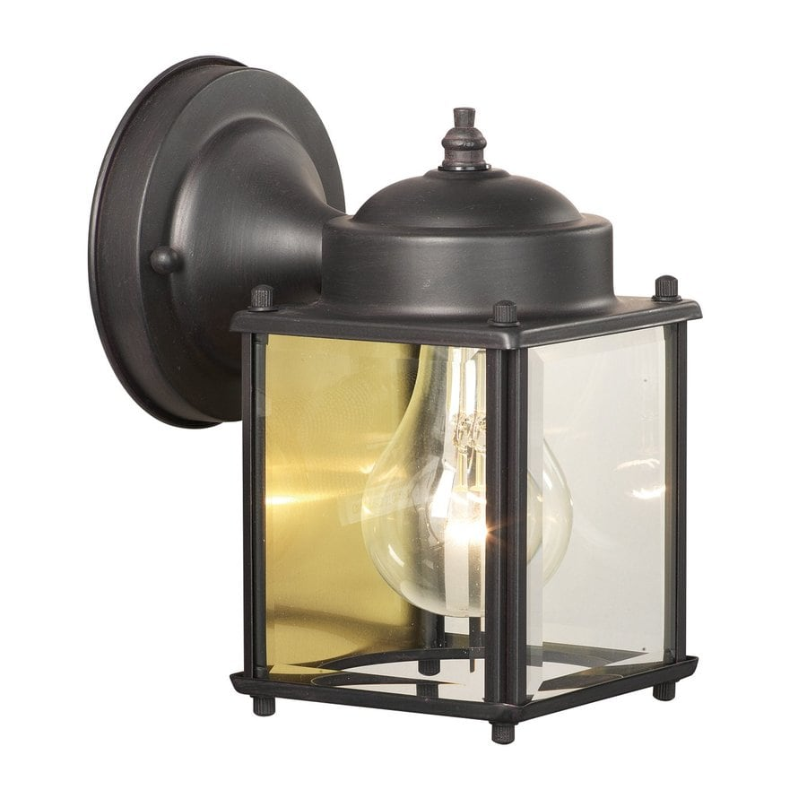 Thomas Lighting Park Avenue 7.5-in H Painted Bronze Outdoor Wall Light