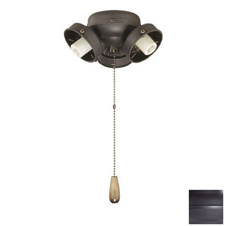 Thomas Lighting 3-Light Painted Bronze Ceiling Fan Light Kit