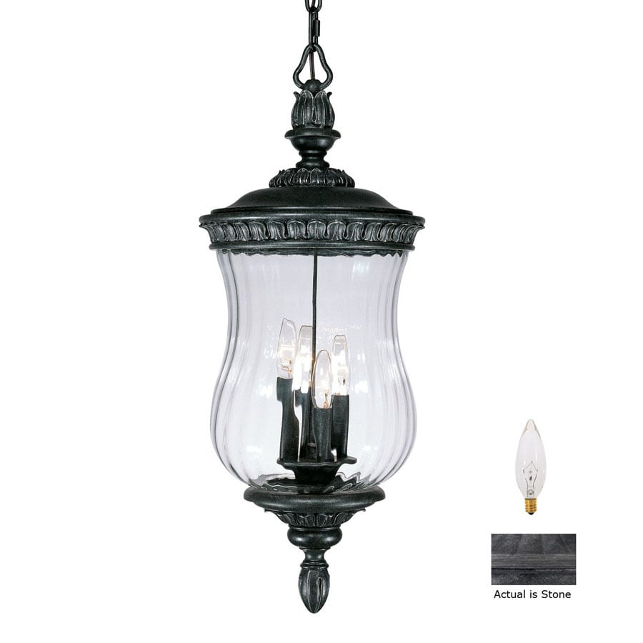 Acclaim Lighting Bel Air 28-1/2-in H Stone Outdoor Pendant Light