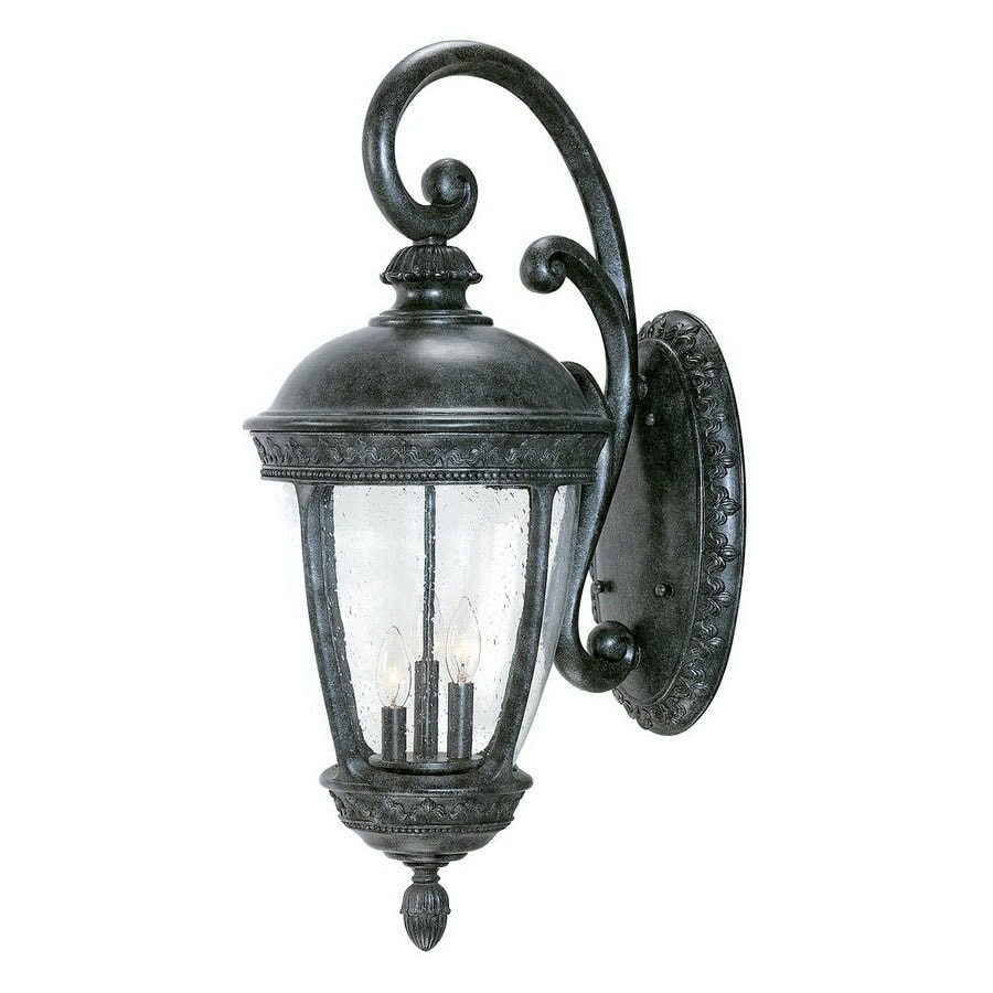 Acclaim Lighting Fleur De Lis 24 In H Stone Outdoor Wall Light