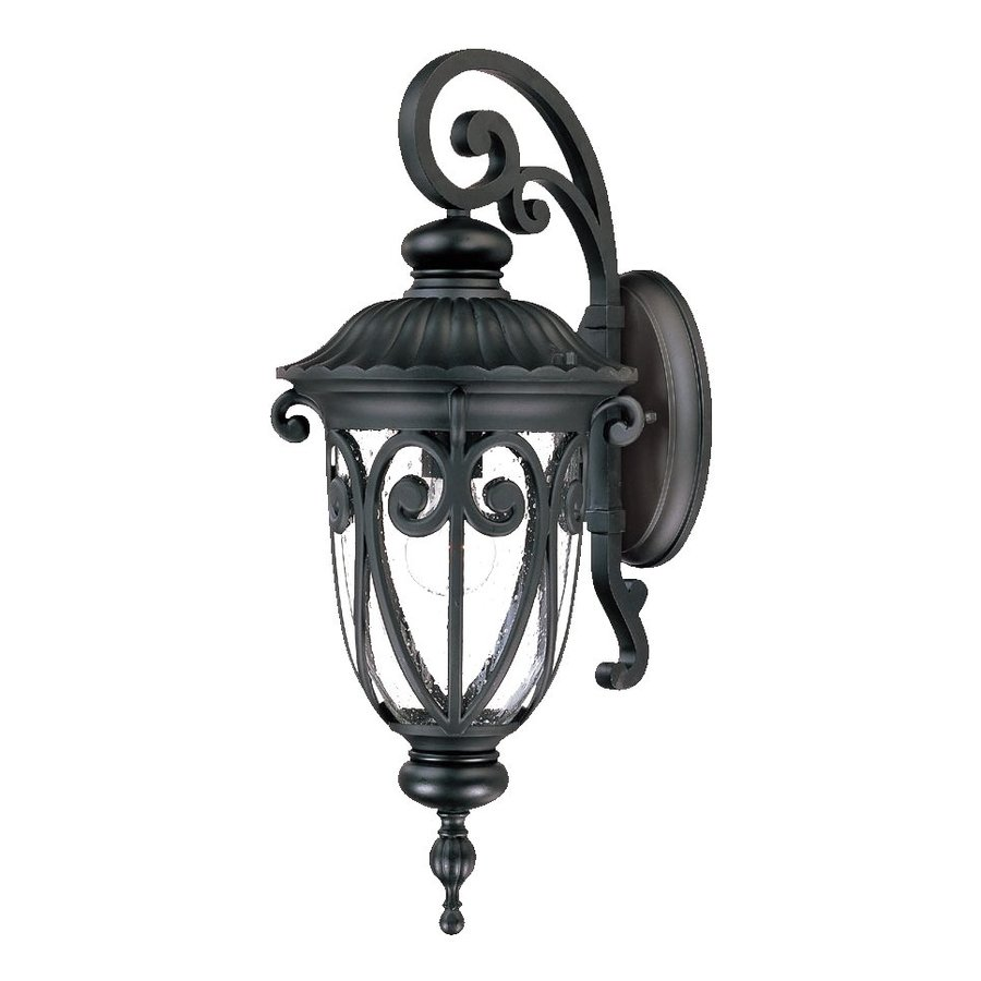 Acclaim Lighting Naples 22.75-in H Matte Black Outdoor Wall Light