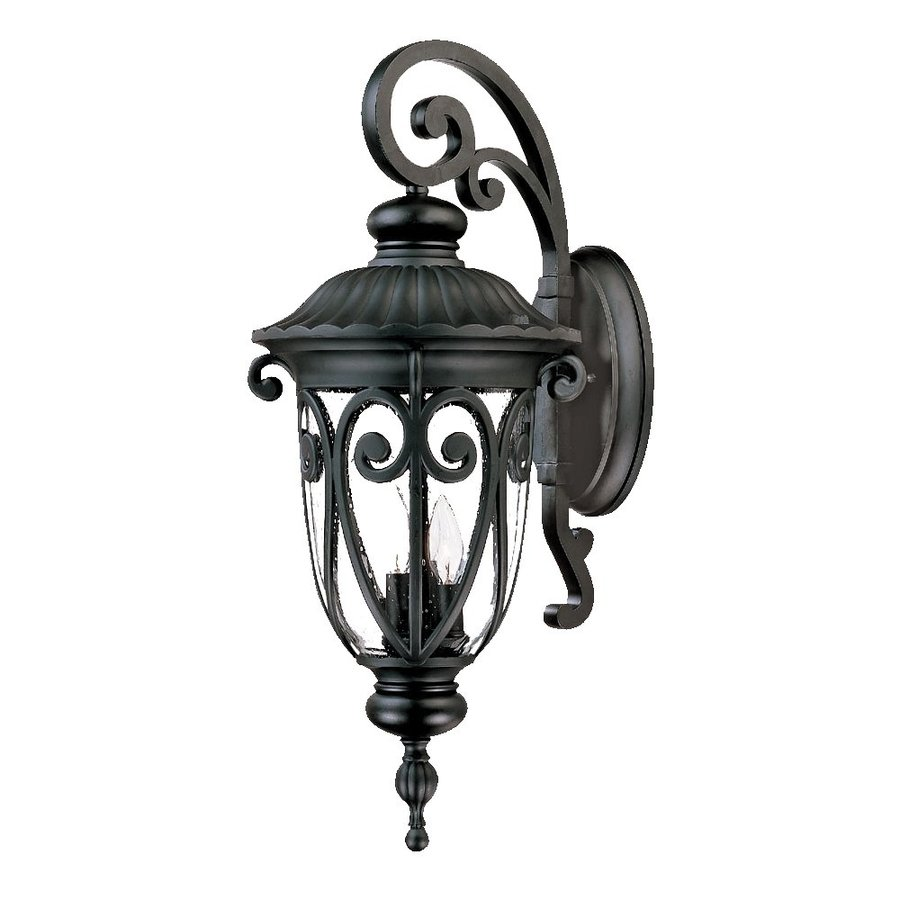 Acclaim Lighting Naples 27.5-in H Matte Black Outdoor Wall Light