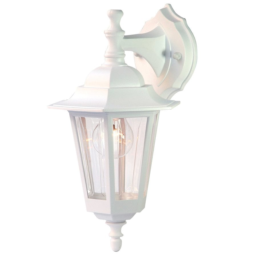 Acclaim Lighting Tidewater 14.5-in H Textured White Outdoor Wall Light
