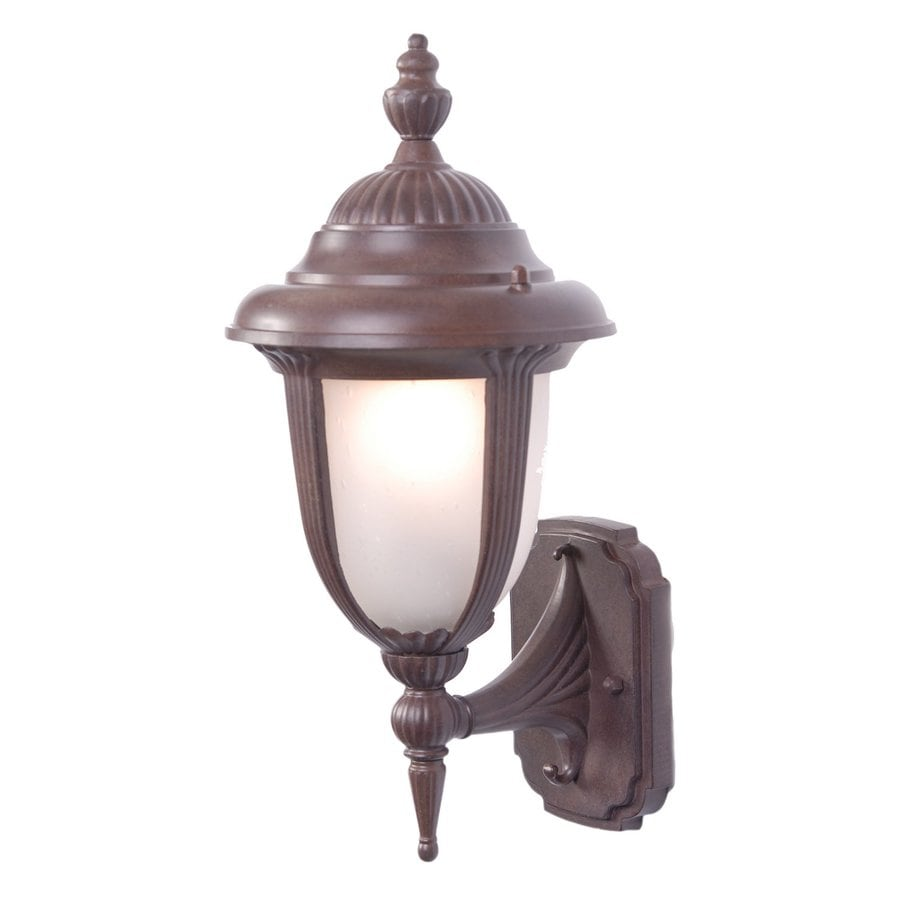 Acclaim Lighting Monterey 17-in H Burled Walnut Medium Base (E-26) Outdoor Wall Light