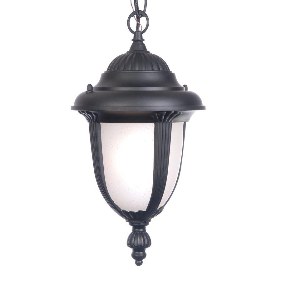 Acclaim Lighting Monterey 14-in Matte Black Outdoor Pendant Light