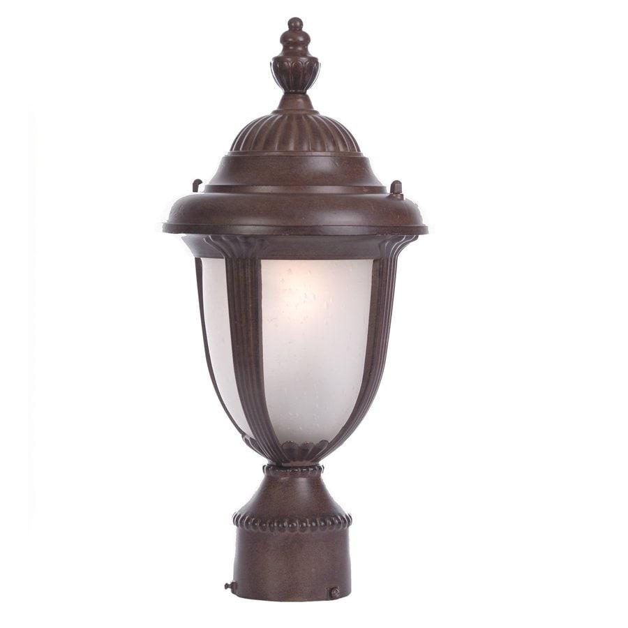 Acclaim Lighting Monterey 16-in H Burled Walnut Post Light