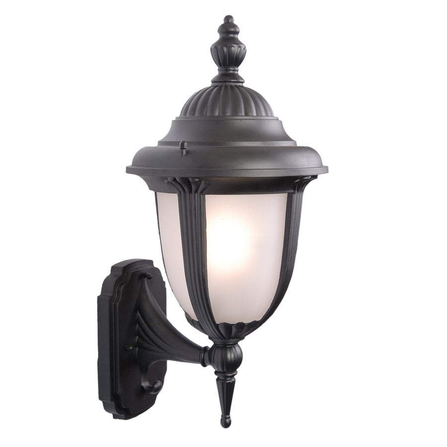 Acclaim Lighting Monterey 20-in H Matte Black Medium Base (E-26) Outdoor Wall Light