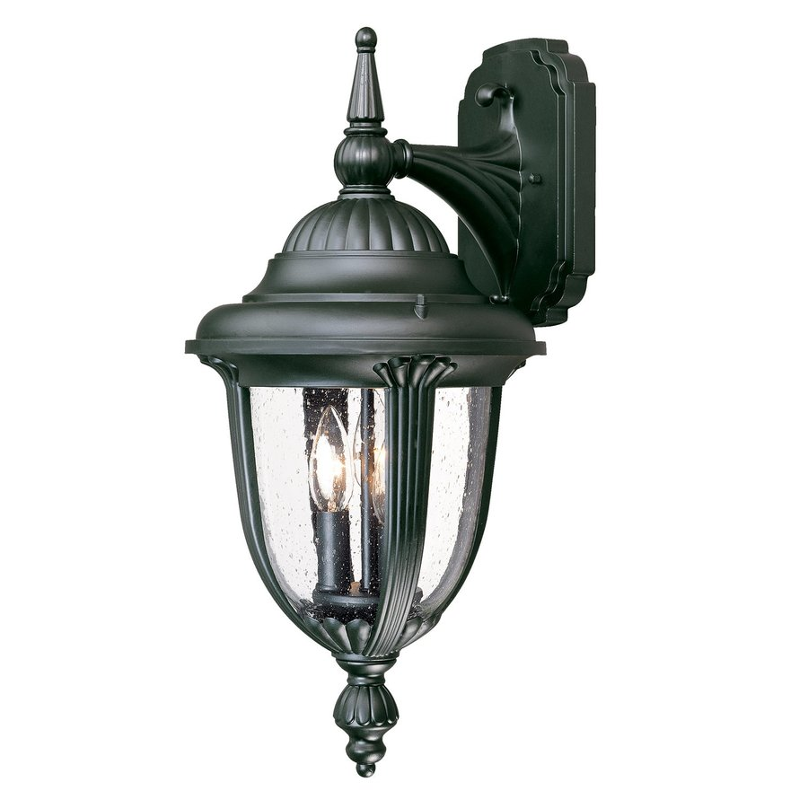 Shop Acclaim Lighting Monterey 20.75-in H Matte Black Outdoor Wall Light at Lowes.com