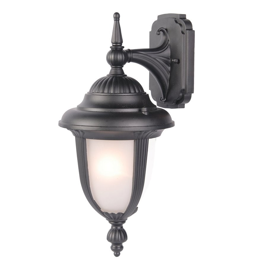 Acclaim Lighting Monterey 20.75-in H Matte Black Outdoor Wall Light