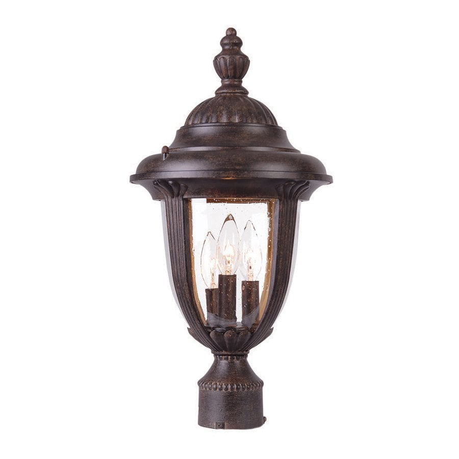 Acclaim Lighting Monterey 19.5-in H Black Coral Post Light