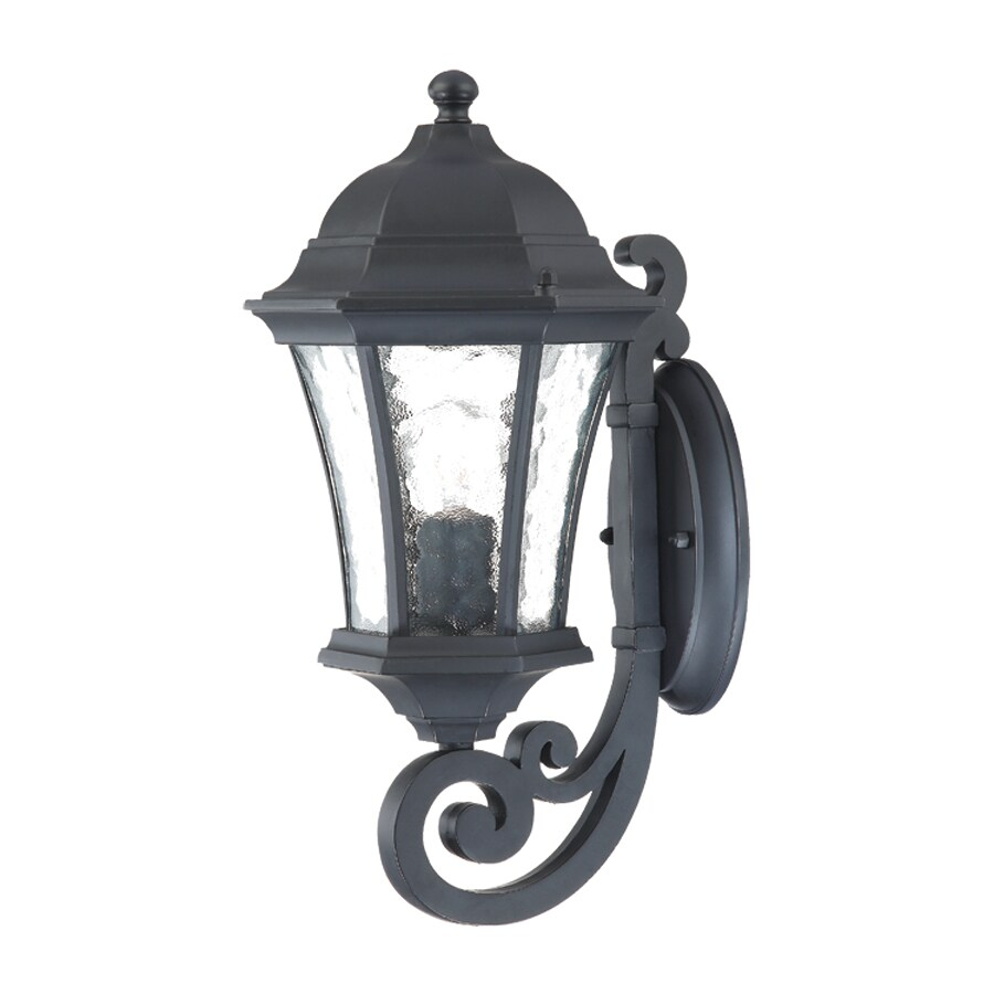 Acclaim Lighting Waverly 16-in H Matte Black Medium Base (E-26) Outdoor Wall Light