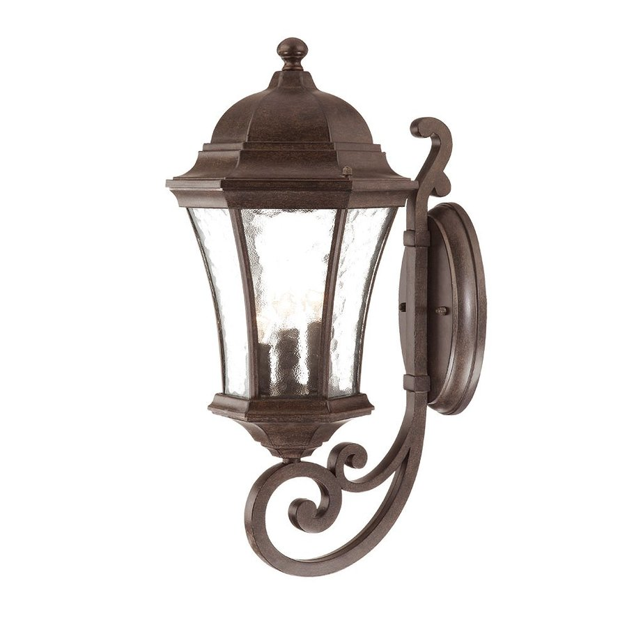 Acclaim Lighting Waverly 19.5-in H Black Coral Outdoor Wall Light