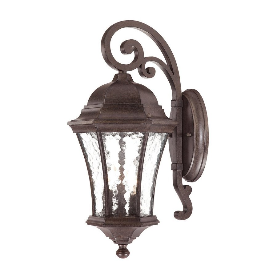 Acclaim Lighting Waverly 29.5-in H Black Coral Outdoor Wall Light