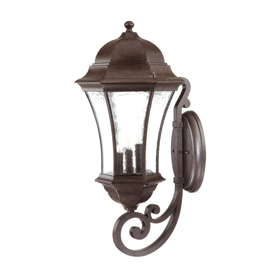 Acclaim Lighting Waverly 26.75-in H Black Coral Outdoor Wall Light