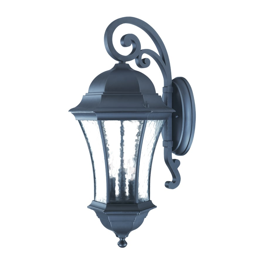 Acclaim Lighting Waverly 26.75-in H Matte Black Outdoor Wall Light