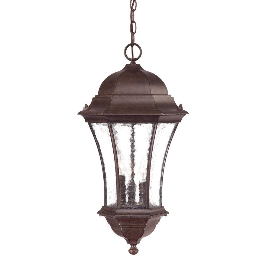 Acclaim Lighting Waverly 23.5-in Black Coral Outdoor Pendant Light