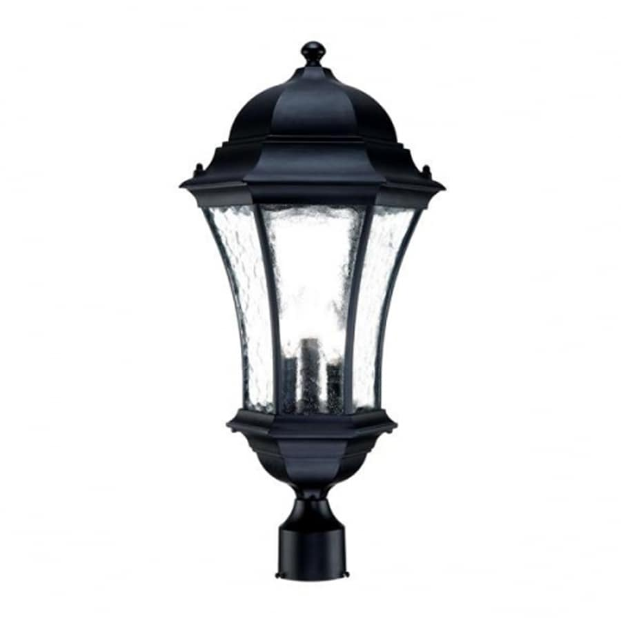 Acclaim Lighting Waverly 24.5-in H Matte Black Post Light