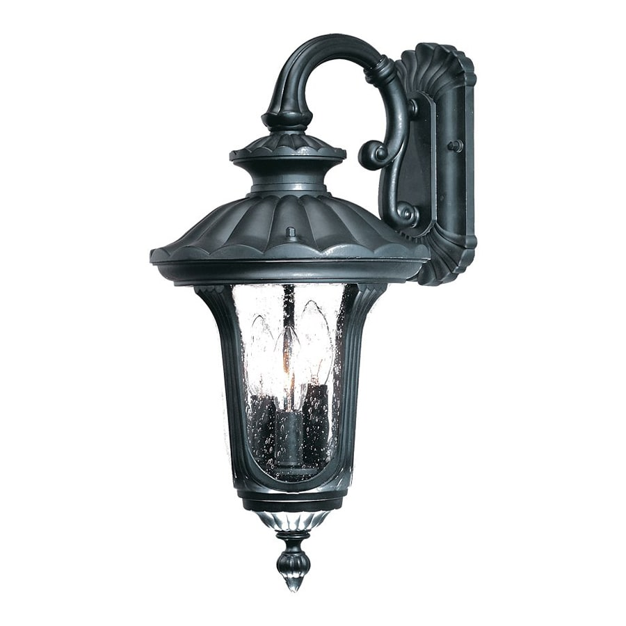 Acclaim Lighting Augusta 18.5-in H Matte Black Outdoor Wall Light