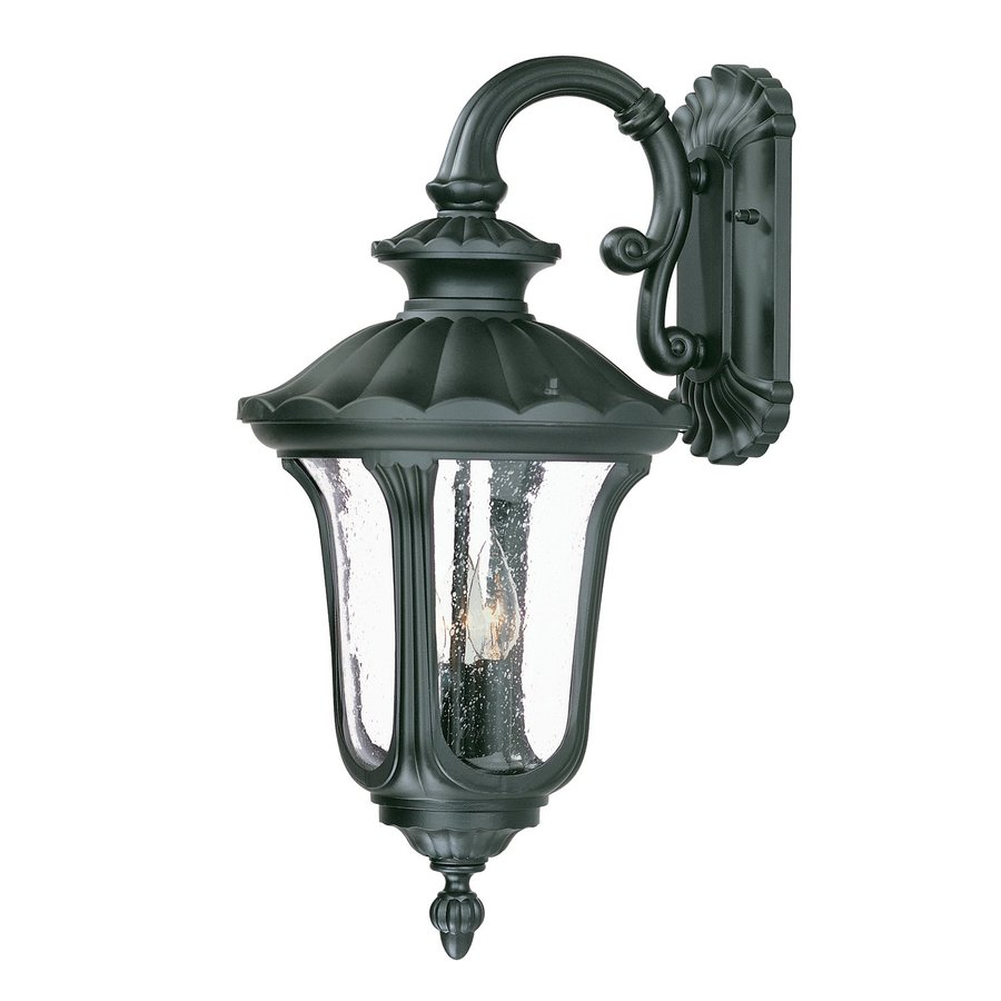 Acclaim Lighting Augusta 22.25-in H Matte Black Outdoor Wall Light