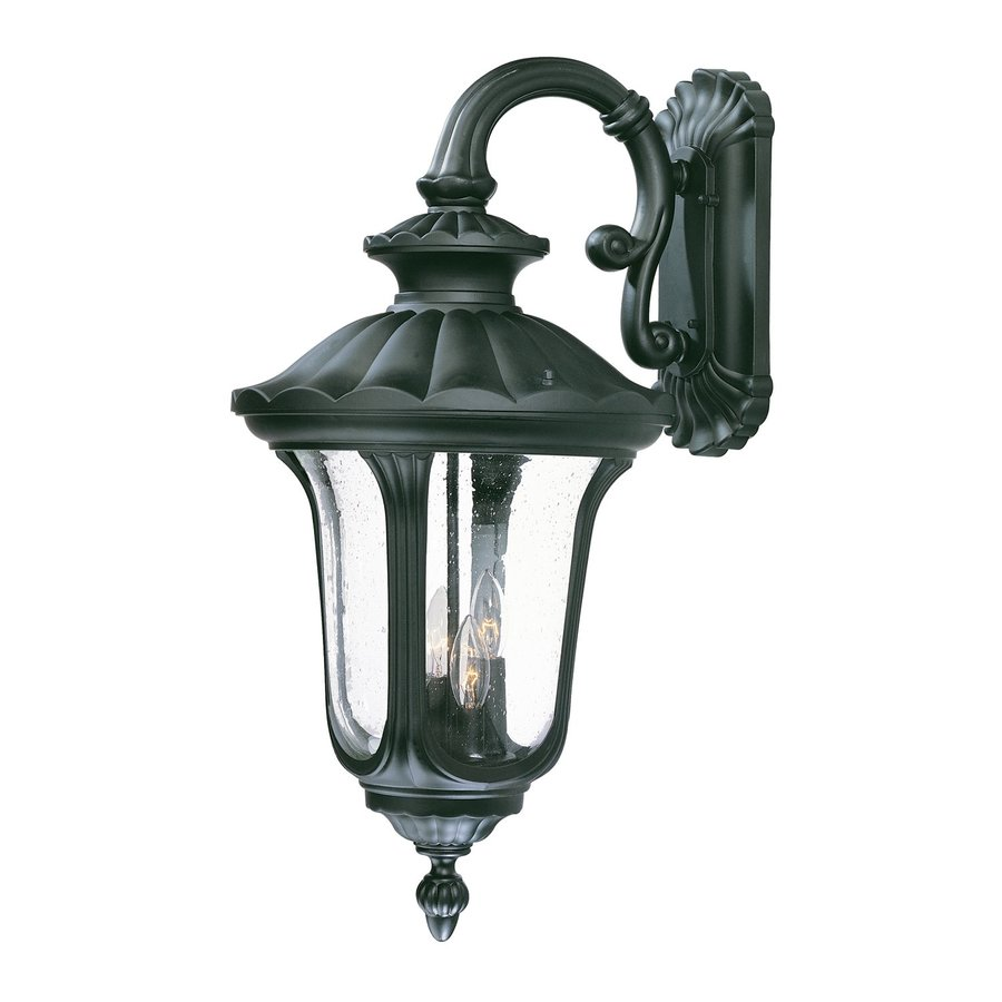 Acclaim Lighting Augusta 28-in H Matte Black Outdoor Wall Light