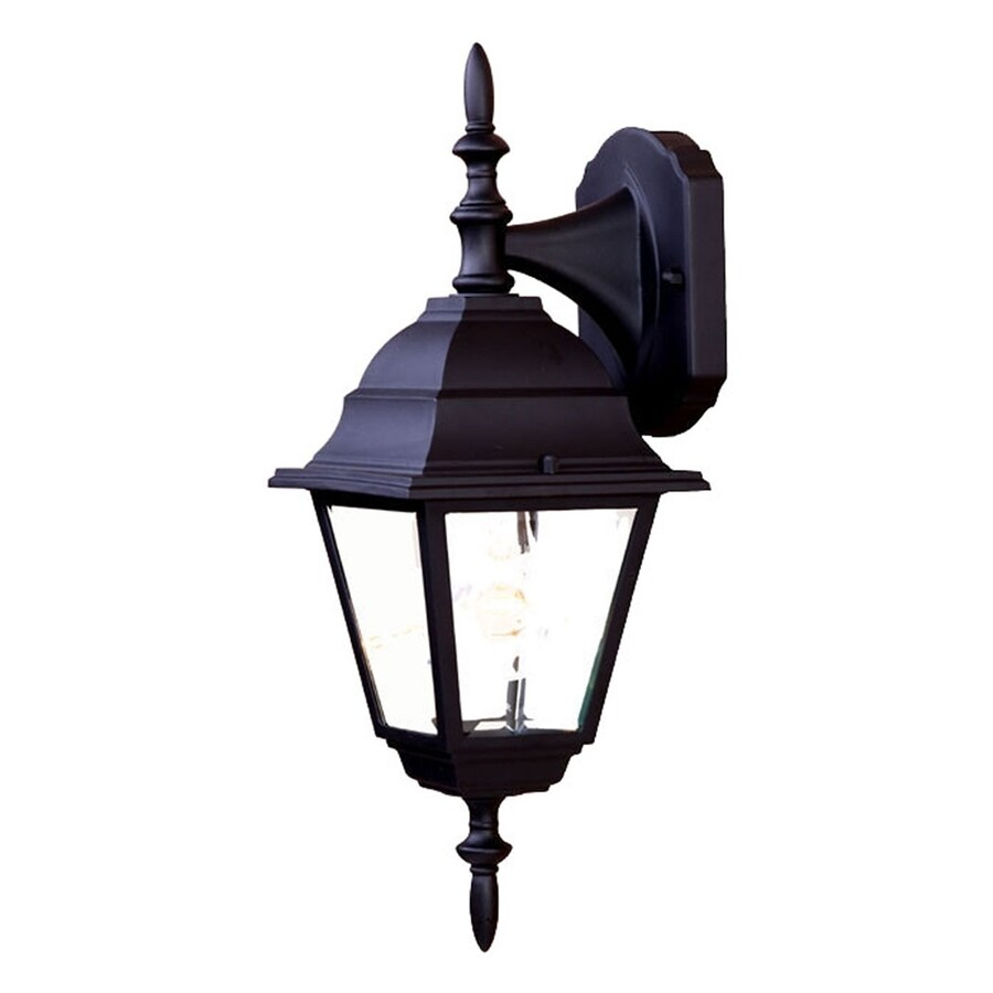 Acclaim Lighting Builders Choice 16-in H Matte Black Outdoor Wall Light