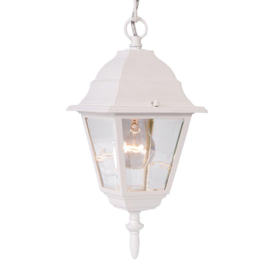Acclaim Lighting Builder's Choice 14-in H White Outdoor Pendant Light