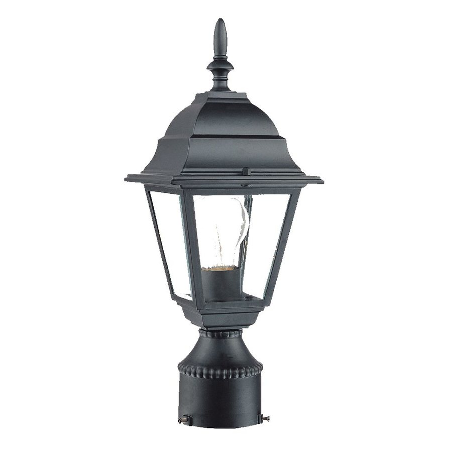 Acclaim Lighting BuilderS Choice 14-in H Matte Black Post Light