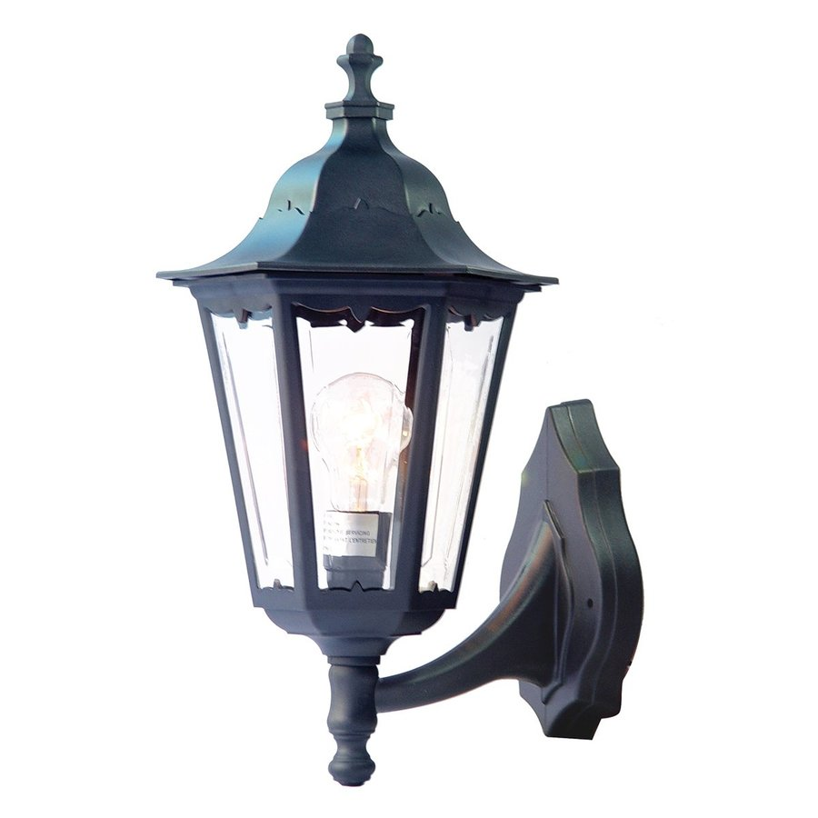 Acclaim Lighting Tidewater 17.5-in H Matte Black Outdoor Wall Light