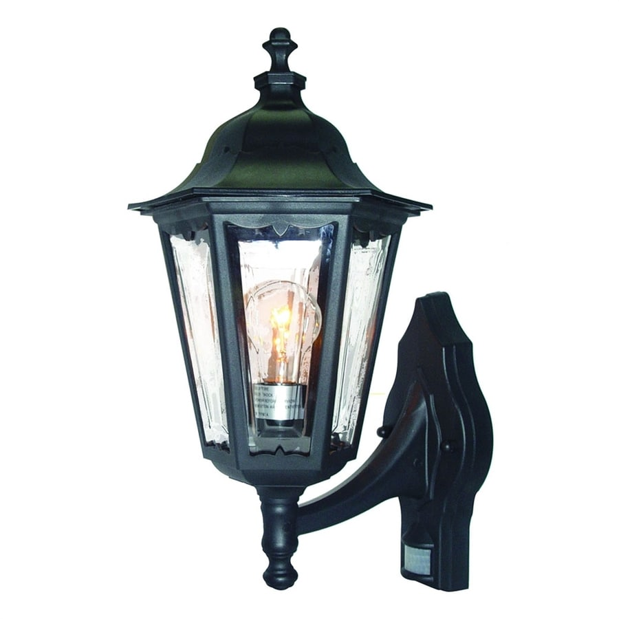 Shop Acclaim Lighting Tidewater 18 In H Matte Black Motion Activated Medium Base E 26 Outdoor