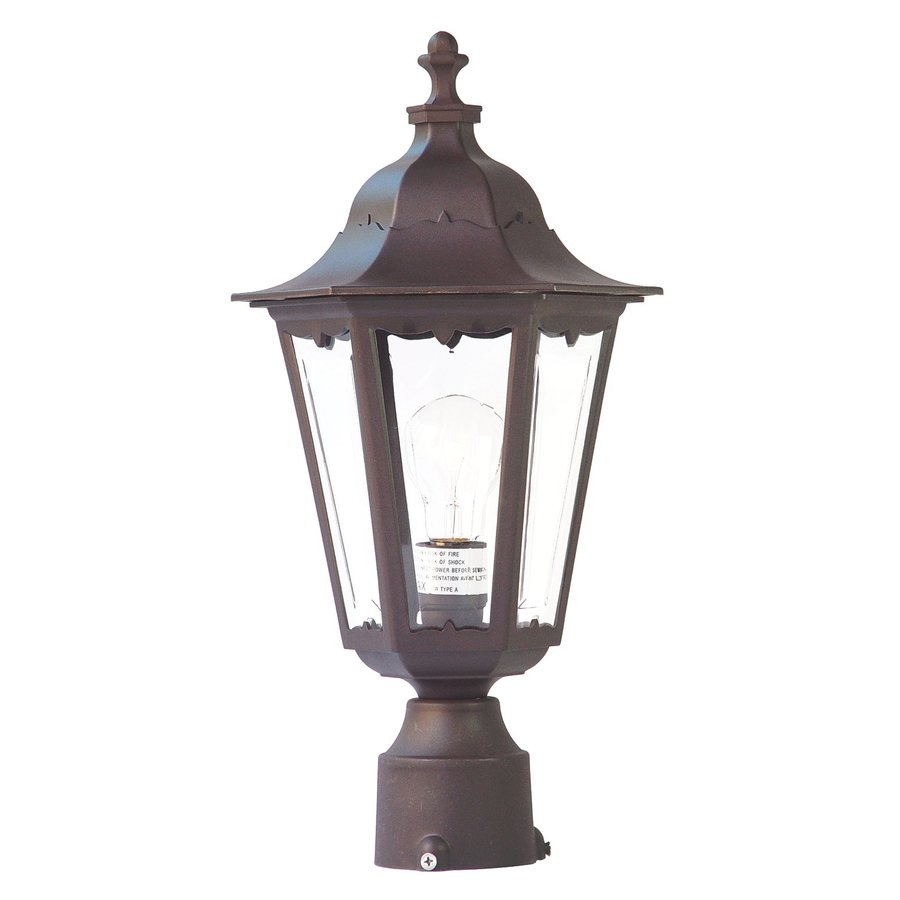 Acclaim Lighting Tidewater 18-in H Architectural Bronze Post Light