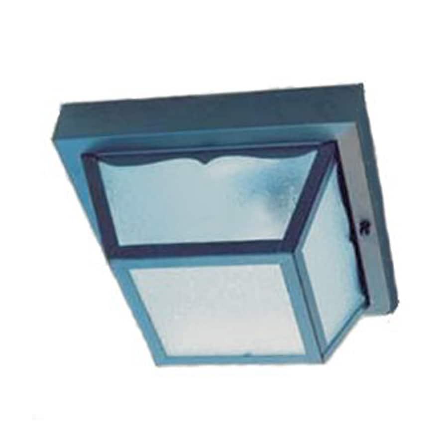 Acclaim Lighting Builder's Choice 8.375-in W Matte Black Outdoor Flush Mount Light