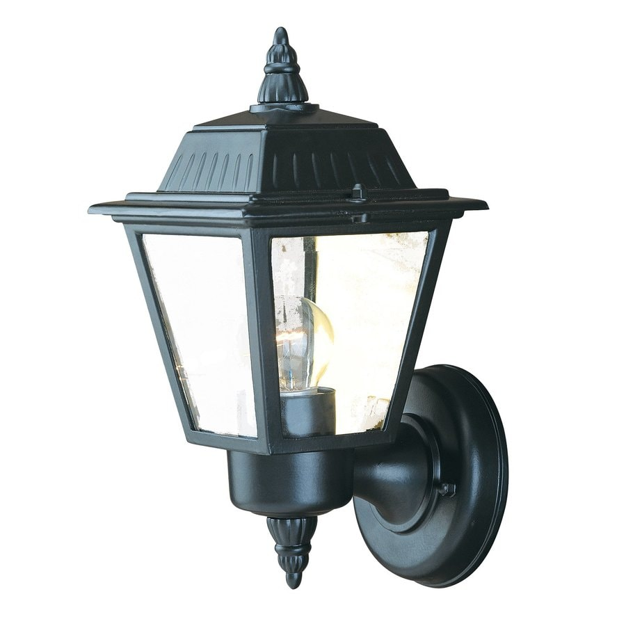 Acclaim Lighting Builders Choice 10-in H Matte Black Outdoor Wall Light