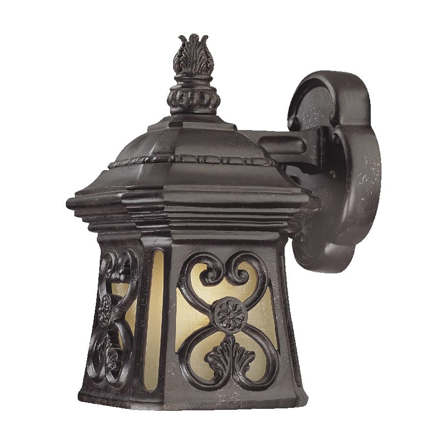 Acclaim Lighting Manorgate 10.75-in H Marbleized Mahogany Outdoor Wall Light