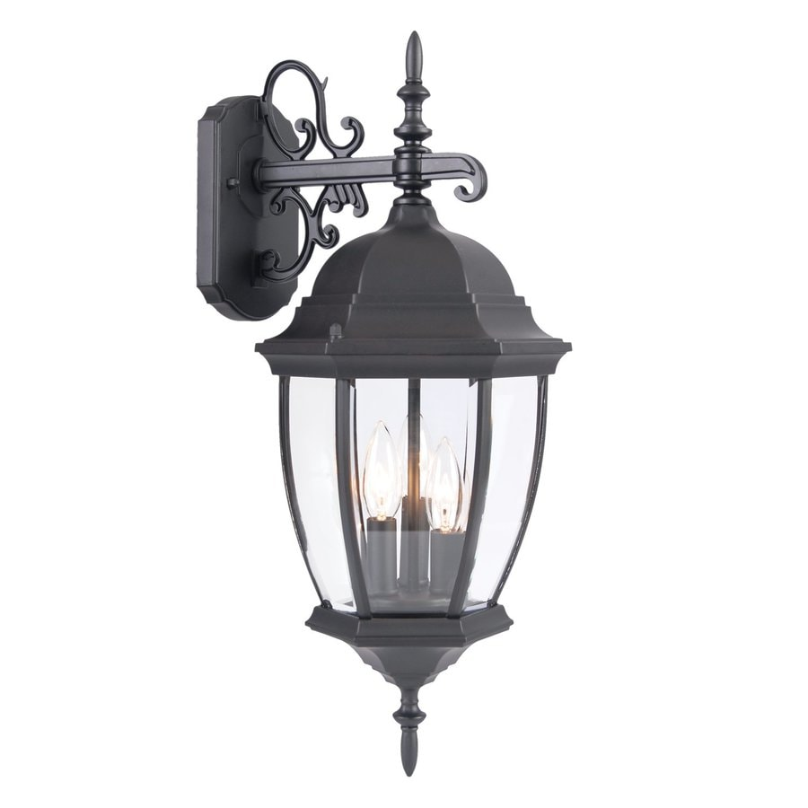 Acclaim Lighting Wexford 22.5-in H Matte Black Outdoor Wall Light