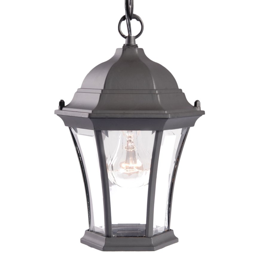Acclaim Lighting Brynmawr 12.25-in Matte Black Outdoor Pendant Light
