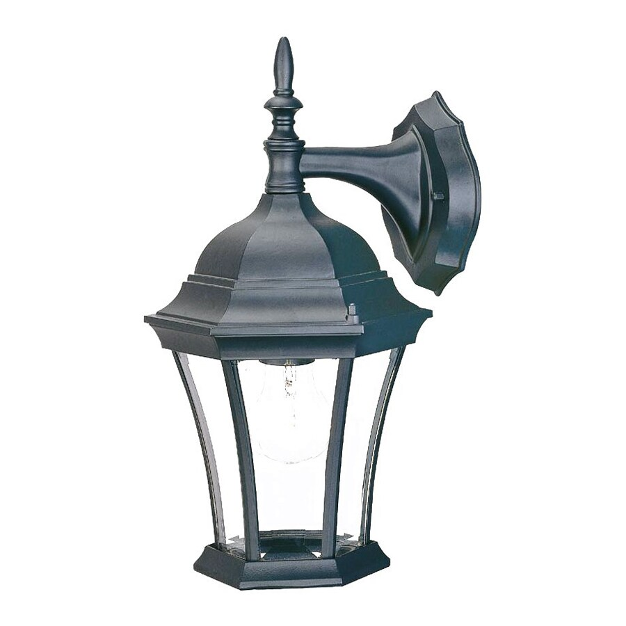 Acclaim Lighting Brynmawr 14.5-in H Matte Black Outdoor Wall Light