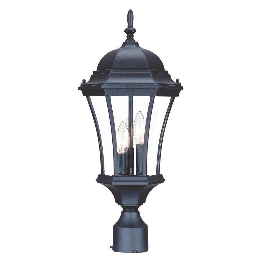 Acclaim Lighting Brynmawr 21-in H Matte Black Post Light
