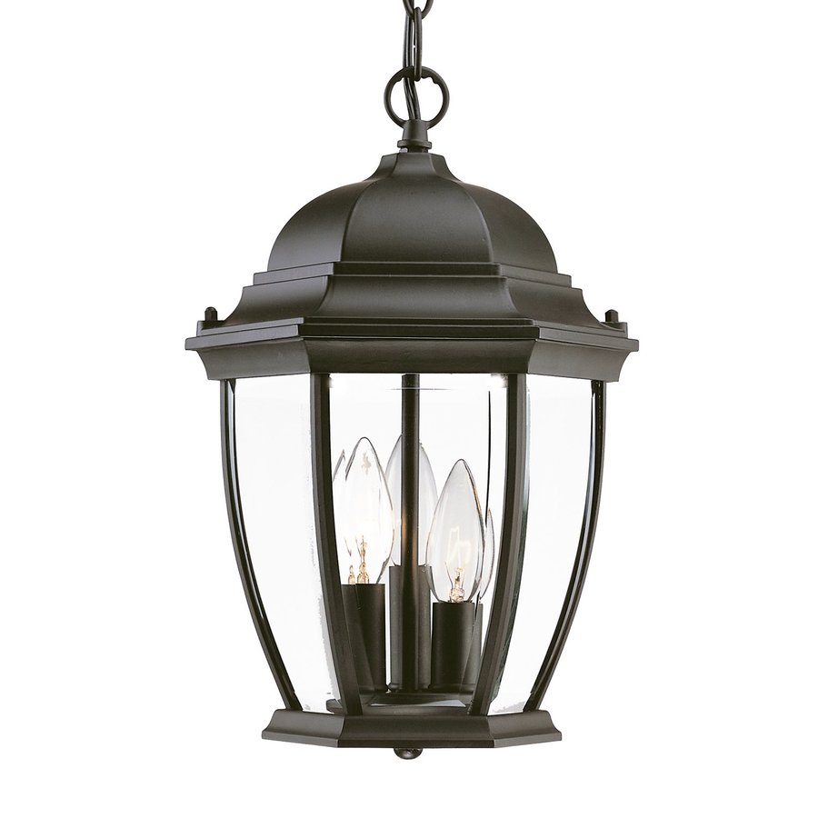 Acclaim Lighting Wexford 14.5-in H Black Outdoor Pendant Light
