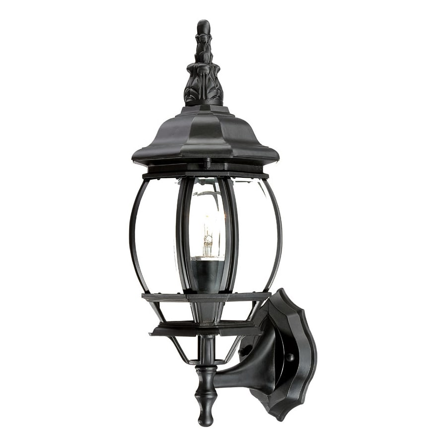 Acclaim Lighting Chateau 17.5-in H Matte Black Outdoor Wall Light
