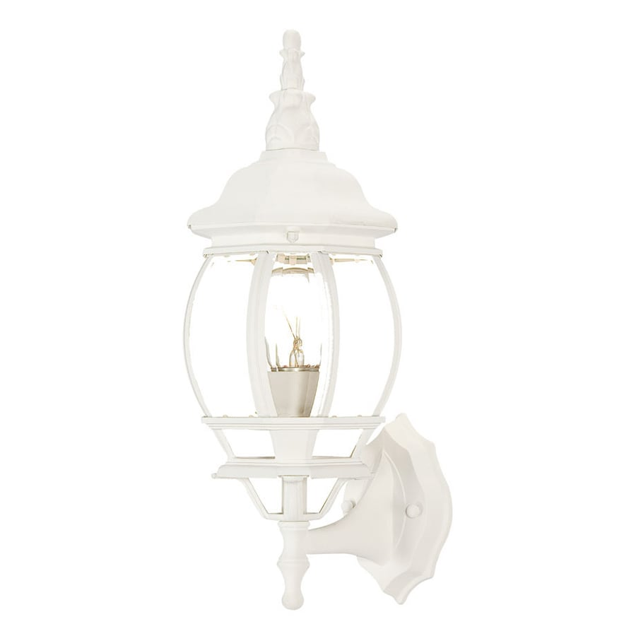 Acclaim Lighting Chateau 17.5-in H Textured White Outdoor Wall Light