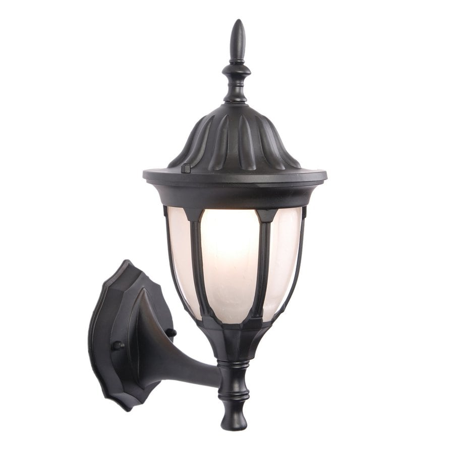 Acclaim Lighting Suffolk 15-in H Matte Black Outdoor Wall Light