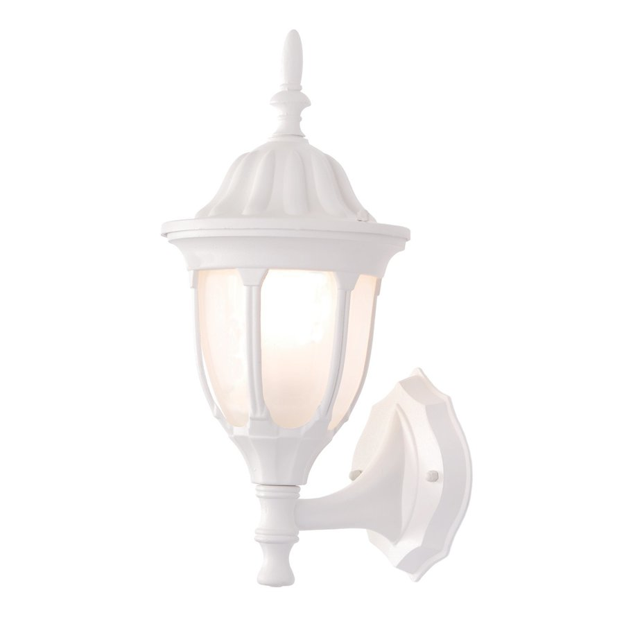 Acclaim Lighting Suffolk 15-in H Textured White Outdoor Wall Light