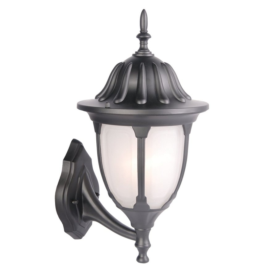 Acclaim Lighting Suffolk 18.25-in H Matte Black Outdoor Wall Light