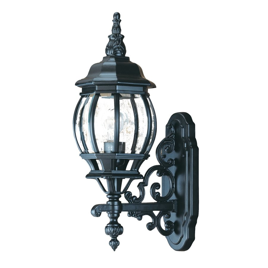 Acclaim Lighting Chateau 20.5-in H Matte Black Outdoor Wall Light