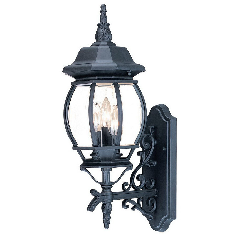 Acclaim Lighting Chateau 22.75-in H Matte Black Outdoor Wall Light